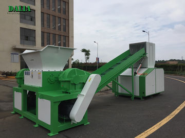 Waste ABS Plastic Shredder Machine 2 Motors Industrial Shredder Machine